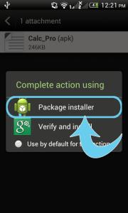 package installer