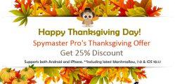 spyjmaster thanksgiving discount