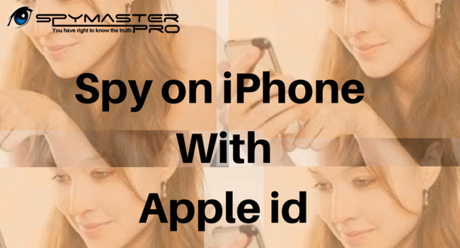 Spy on iPhone with Apple id