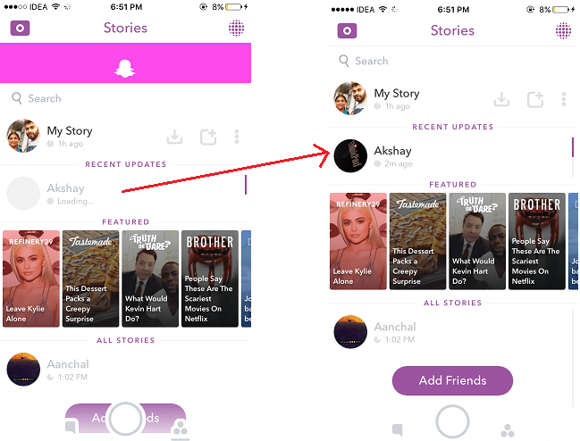 How to view snapchat stories online