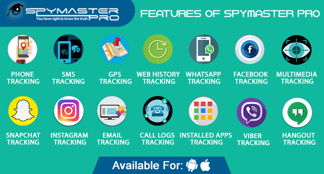 Fonctionnalités de Spymaster Pro