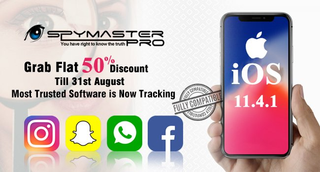 Spymaster Pro is now compatible with latest iOS version - 11.4.1