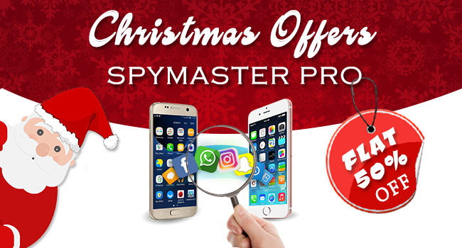 Spymaster Pro Christmas Offer - Flat 50% Discount