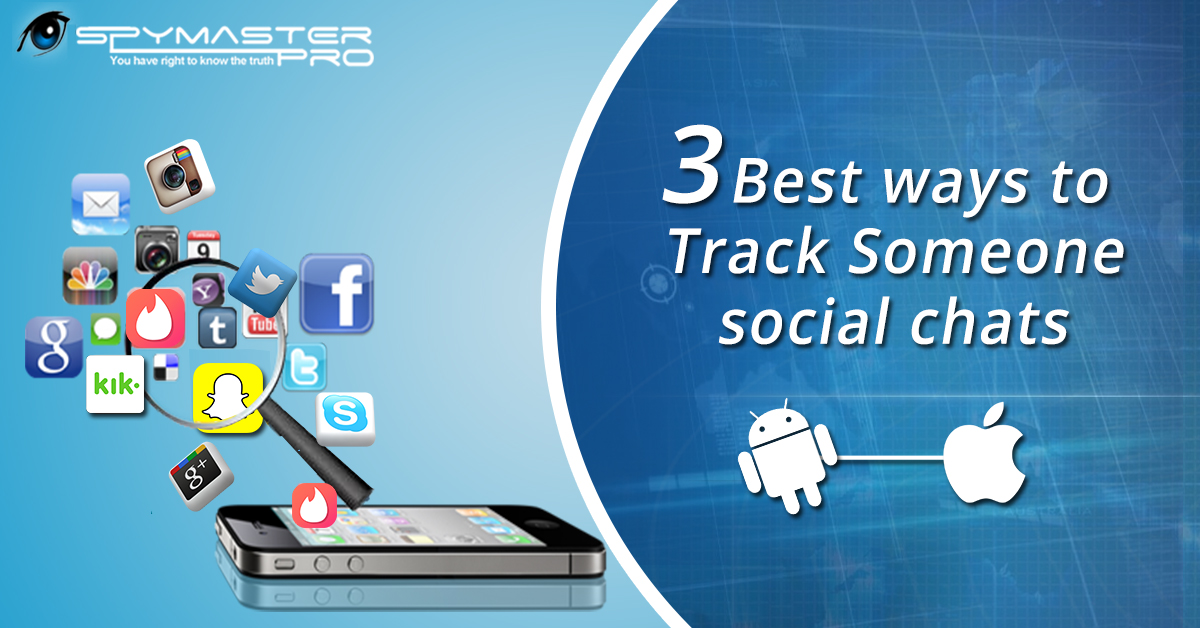 Track Someone social chats