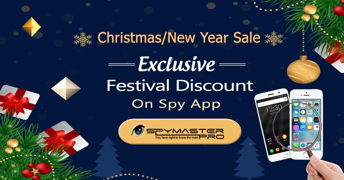 Festival Discount On Spy App Spymaster Pro