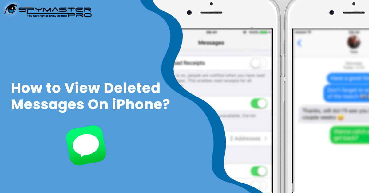 View deleted messages on iPhone