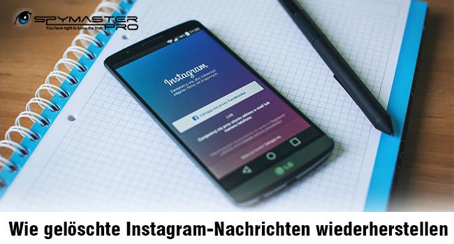 Wie gelöschte Instagram-Nachrichten wiederherstellen