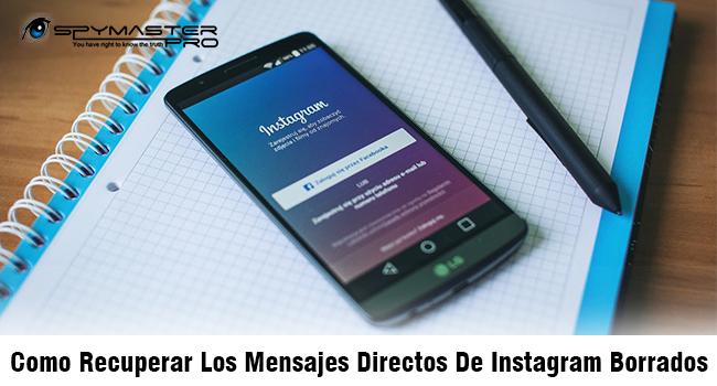 Recuperar mensajes borrados directos de Instagram