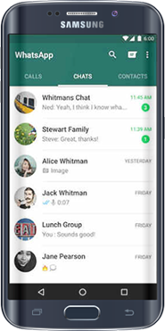 Monitorice el WhatsApp para Android
