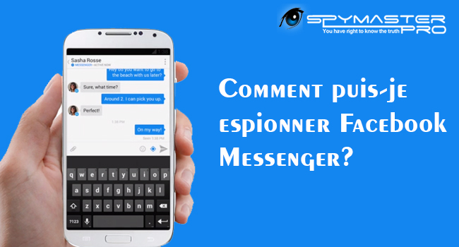 comment espionner facebook messenger application