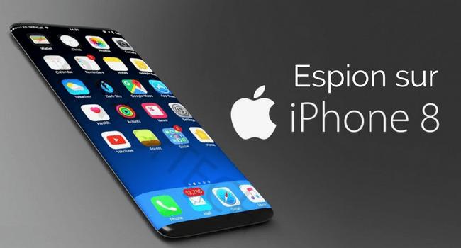 application espion iphone 8 Plus sans jailbreak