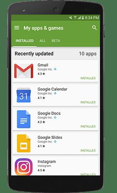 App di Localizzazione Installata