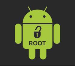 raiz de seu telefone Android