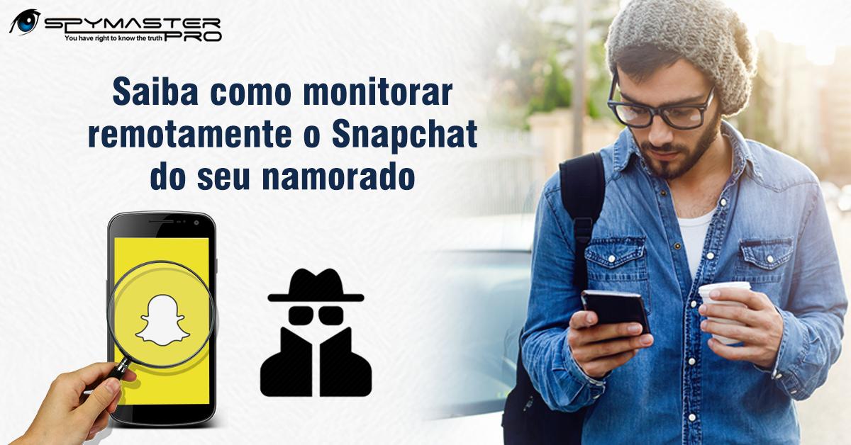 Saiba como monitorar remotamente o Snapchat do seu namorado