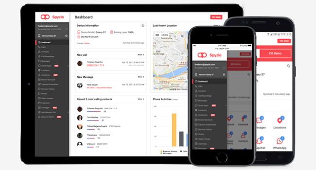 Aplicativo de monitoramento de celular