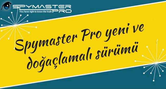 spymaster pro yeni ve doğaçlamalı sürümü