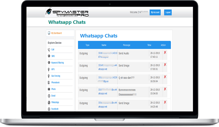 iPhone whatsapp spy without jailbreak