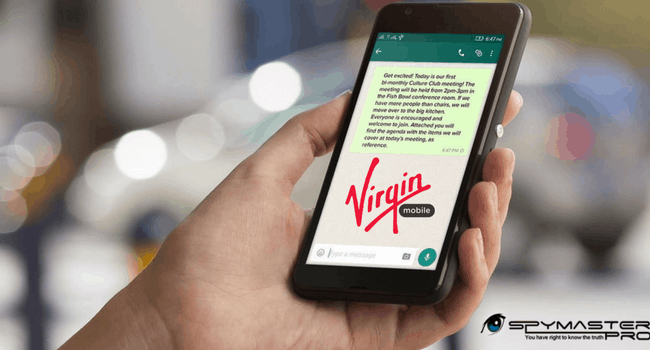 Spy on Virgin Mobile Phones