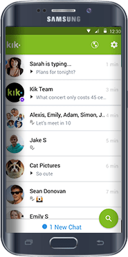 kik message tracker