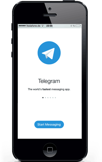 Telegram Spy app for iPhone