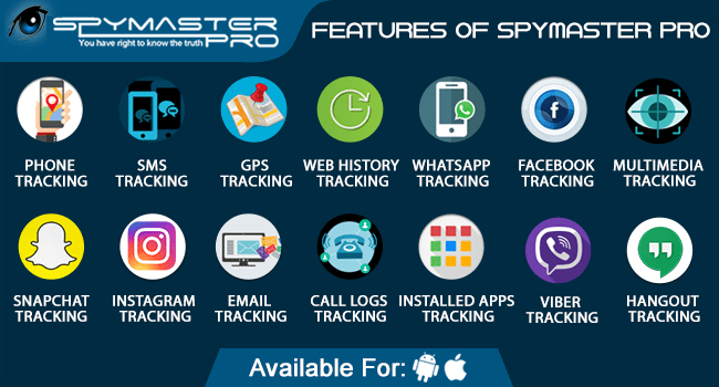 Spymaster Pro Features